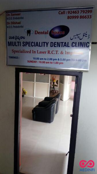 Dental Space Multispeciality Dental Clinic in Hyderabad(Mehdipatnam